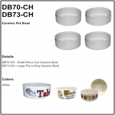 Personalize - Ceramic Pet Bowls