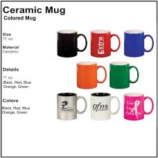 Personalize - Colored Coffee Mugs