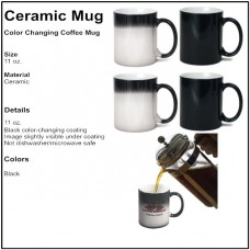 Personalize - Color Changing Magic Coffee Mugs