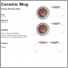 Personalize - Happy Birthday Coffee Mugs