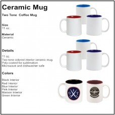 Personalize - Two Tone Coffee Mugs