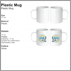 Personalize - Plastic Coffee Mugs