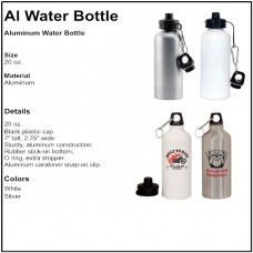 Personalize - Aluminum Water Bottles