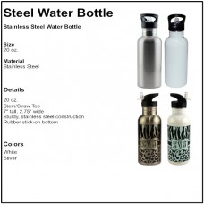 Personalize - Stainless Steel Water Bottles