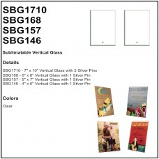 Personalize - Sublimatable Vertical Glass